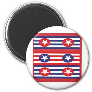 4th july party magnet