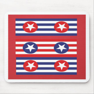 4th july party mouse pad