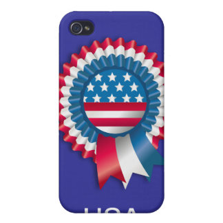 4th July Ribbon v11 Covers For iPhone 4
