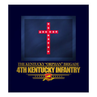 4th Kentucky Infantry Poster