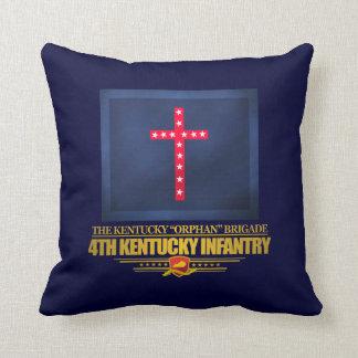 4th Kentucky Infantry Throw Pillow