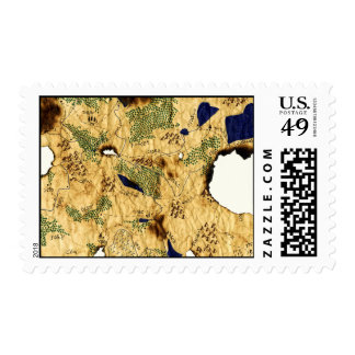 4th Map of the Forgotten Realm Postage