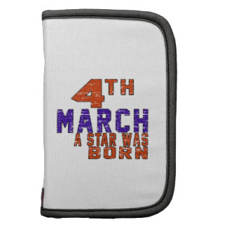 4th March a star was born Planner