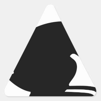 4th Mechanized Brigade (United Kingdom) Triangle Sticker