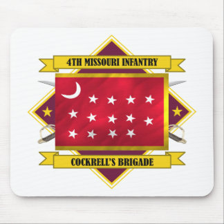 4th Missouri Infantry Mouse Pad