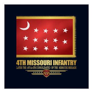 4th Missouri Infantry Poster