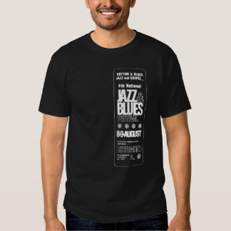 4th National Jazz Blues Festival T Shirts