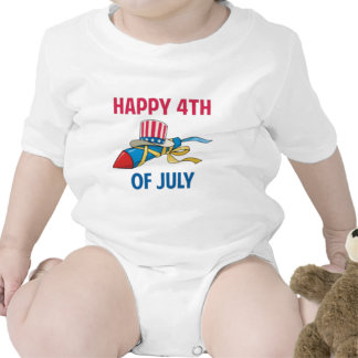 4th of july 2012 baby bodysuits
