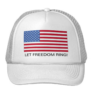 4th of July American Flag Freedom Hat