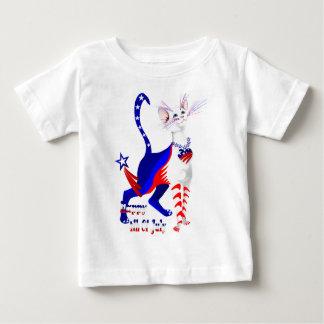 4th Of July American Kitty Shirt