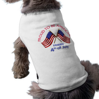 4th of July and Patriotic Gifts and Tees Doggie T-shirt
