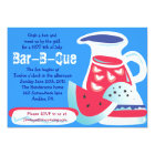 4th OF JULY Bar-B-Que Summer Party Invitation