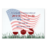 4th of July Barbeque Cookout Invitations