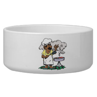 4th Of July Barbeque Pet Bowls