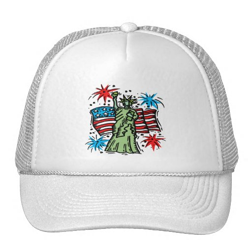 4th of july baseball hat quot liberty quot trucker hat zazzle
