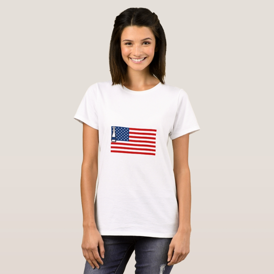 4th of July Beer Drinking Party Flag For Men Women T-Shirt - Best Selling Long-Sleeve Street Fashion Shirt Designs