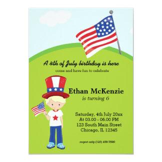 4th of July birthday Card