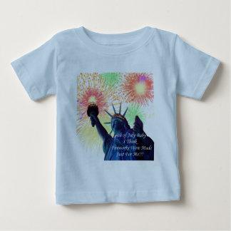 4th Of July Birthdays Baby T-Shirt