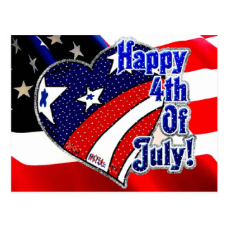 4th of July by Mojisola A Gbadamosi Okubule Design Postcard