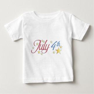 4th of july cake tee shirt