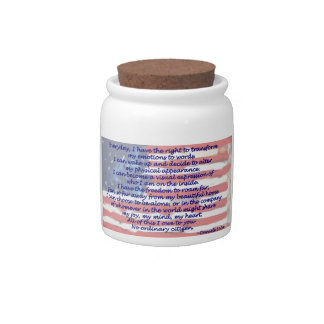 4th of July Candy Jars