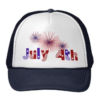 4th of July Cap Trucker Hat