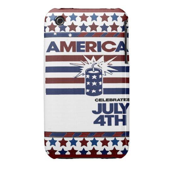 4th of July Case-Mate iPhone 3 Case
