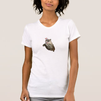 4th of July Cat Tee Shirt