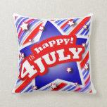 4th of July Celebration American MoJo Pillows