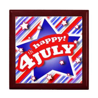 4th of July Celebration giftbox Keepsake Box