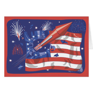 4th of July Celebration Greeting Card