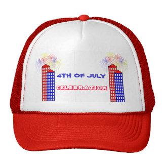 4TH OF JULY CELEBRATION TRUCKER HAT