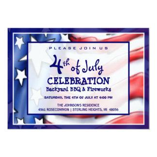 4th of July Celebration Invitation