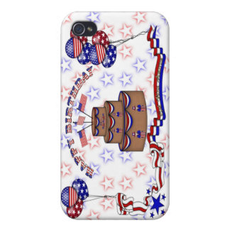 4th of July Celebration iPhone 4/4S Case