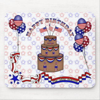 4th of July Celebration Mouse Pad