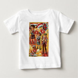 4th of July - Children with fireworks Shirt
