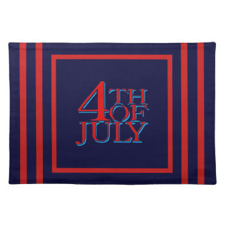 4th of July - Cloth Placemat