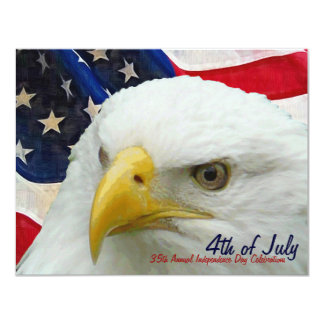4th of July  Company Party Independence Day Card