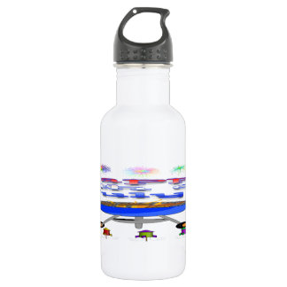 4th of July Cookout (16 oz) Stainless Steel Water Bottle