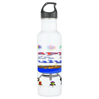 4th of July Cookout (24 oz) Water Bottle