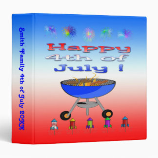 4th of July Cookout Memory Binder