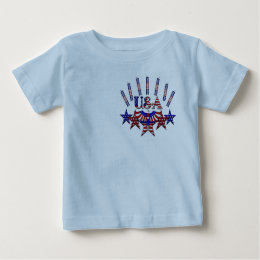 4th of July Crackers Baby T-Shirt