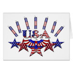 4th of July Crackers Card