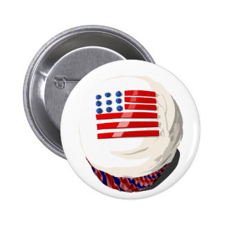 4th of July cupcake button