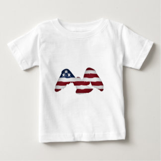 4th of july cupcakes baby T-Shirt
