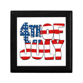 4th of July Design 1 Gift Boxes