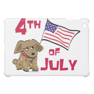 4th of July Dog Design iPad Mini Case