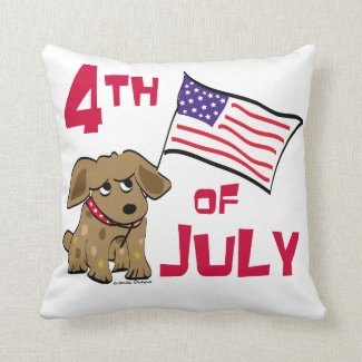 4th of July Dog Design