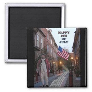 4th of July Elfreth s Alley Fridge Magnet