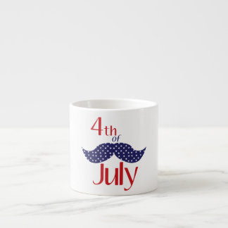 4th of July Espresso Cup